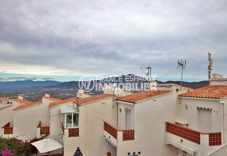 acheter appartement rosas, studio 36 m², vue imprenable sur les montagnes