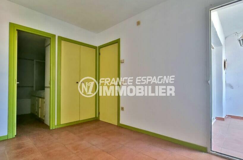 acheter appartement rosas, 3 pièces 58 m², suite parentale avec salle de bain et wc