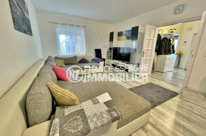 achat maison empuriabrava, 5 chambres 223 m², salon / séjour avec climatisation