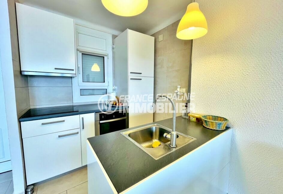 ventes immobilieres rosas espagne: villa 2 chambres 71m², cuisine équipée, nombreux rangements