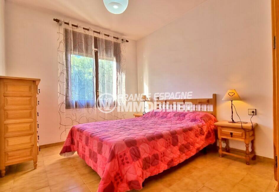 acheter appartement rosas, 3 pièces 55 m², 1° chambre à coucher, lit double