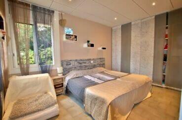 appartement à vendre rosas, 2 chambres 64 m², chambre à coucher avec dressing, lit double