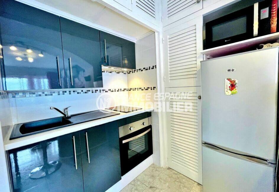 appartement à vendre à rosas, 2 pièces 59 m², cuisine américaine aménagée et équipée