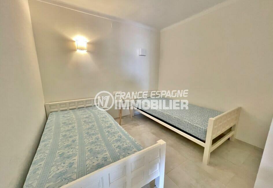 acheter en espagne: appartement 3 pièces vue mer 69 m², chambre avec 2 lits simples