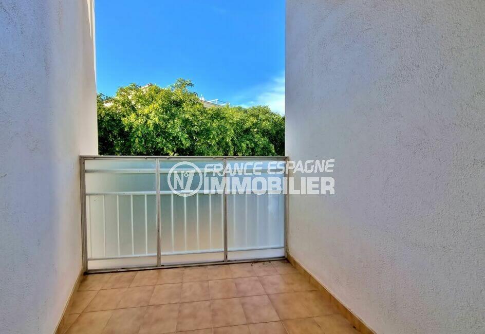 appartement à vendre à rosas, 2 chambres 55 m², terrasse de 10 m², exposition sud / est
