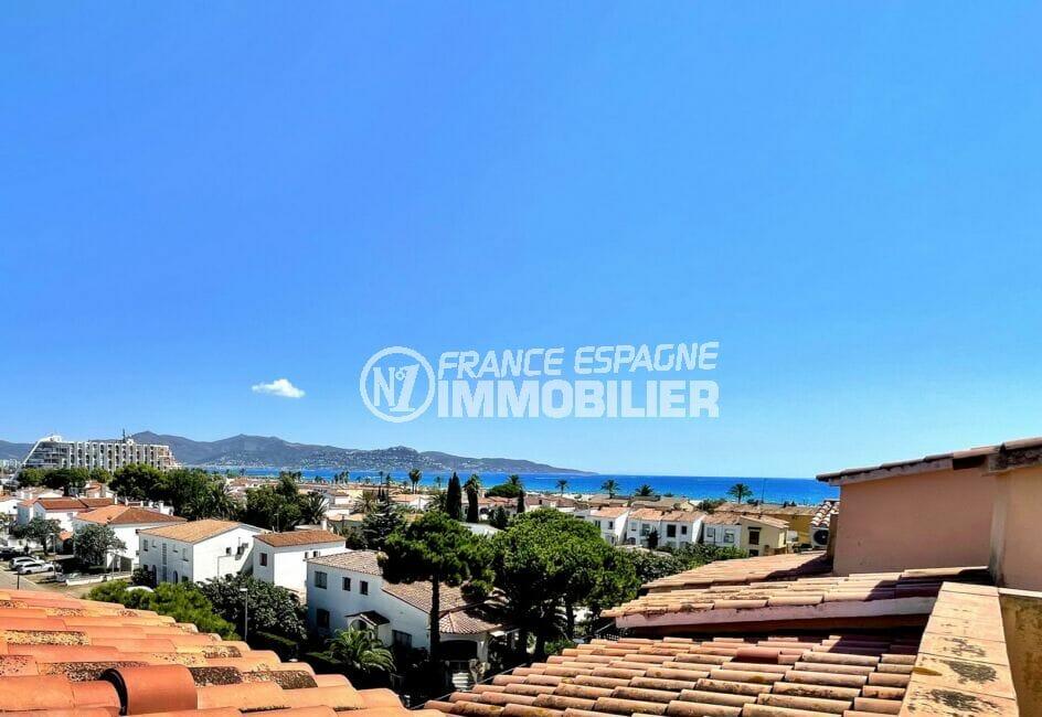 immobilier espagne bord de mer: appartement 2 pièces 42 m² atico, vue sur la mer et les montagnes