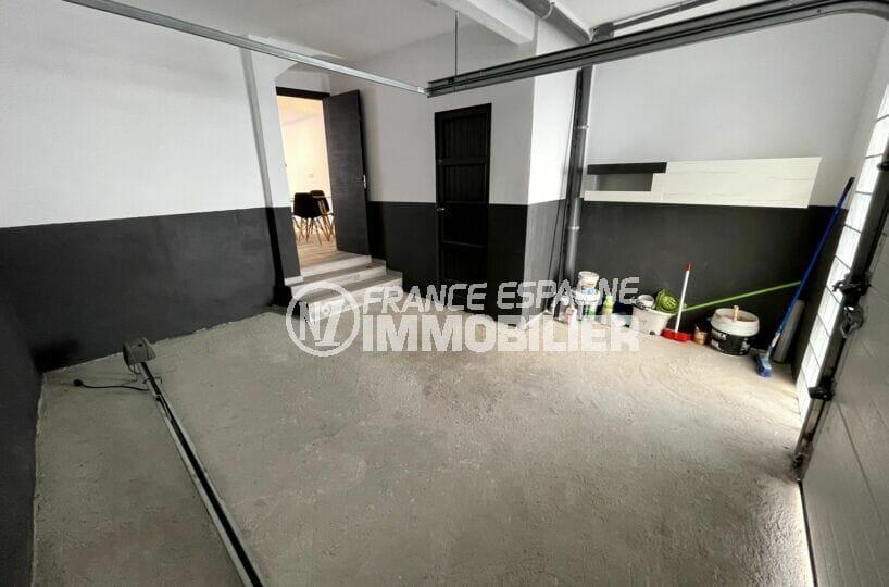 acheter maison rosas, 3 chambres 102 m², grand garage avec cellier