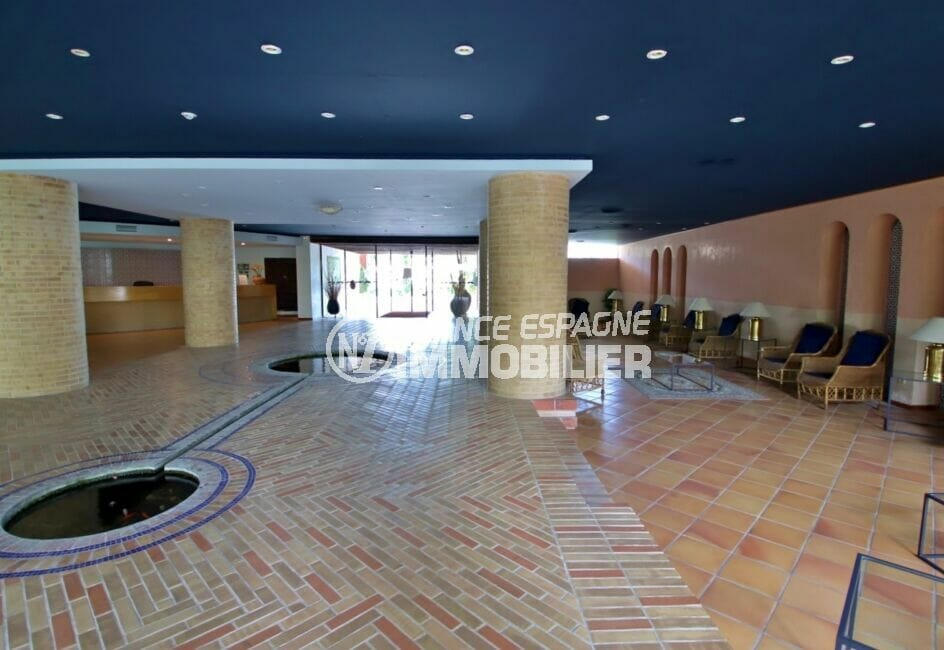 la costa brava: appartement 3 pièces 58 m², résidence sécurisée avec gardien, ascenseur