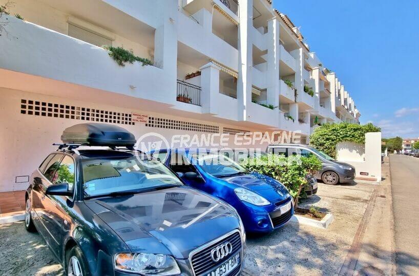 appartement à vendre à rosas, 3 pièces 58 m²,résidence avec parking privé