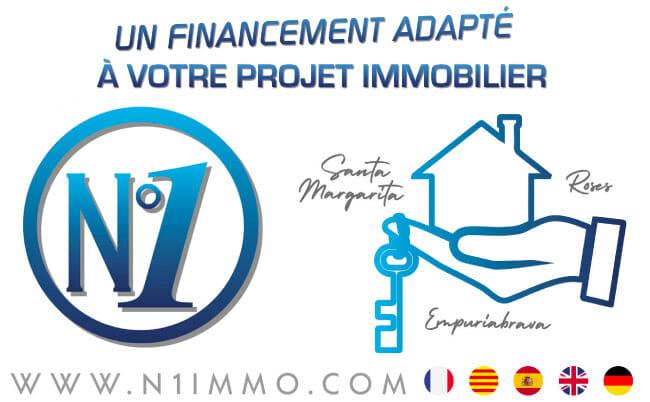 Financement immobilier rosas | N°1 France Espagne