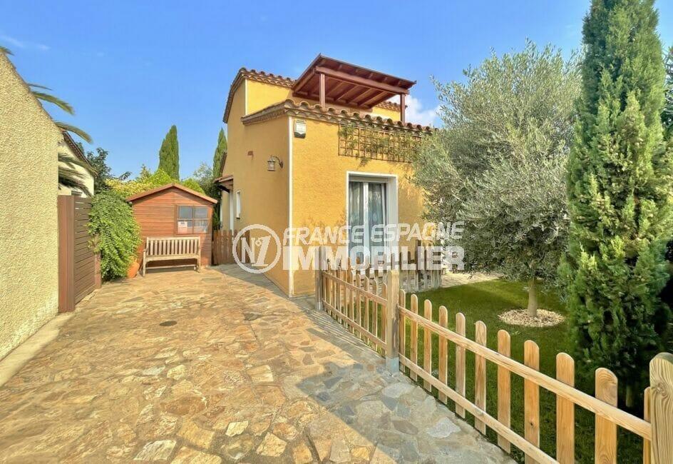 maison a vendre espagne, 3 chambres 113 m² avec 2 terrasses, construite sur 263 m² de terrain, proche plage