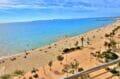 appartements a vendre a rosas, 2 chambres 63 m², terrasse véranda belle vue sur toute la baie de roses. plage et commerces 50 m