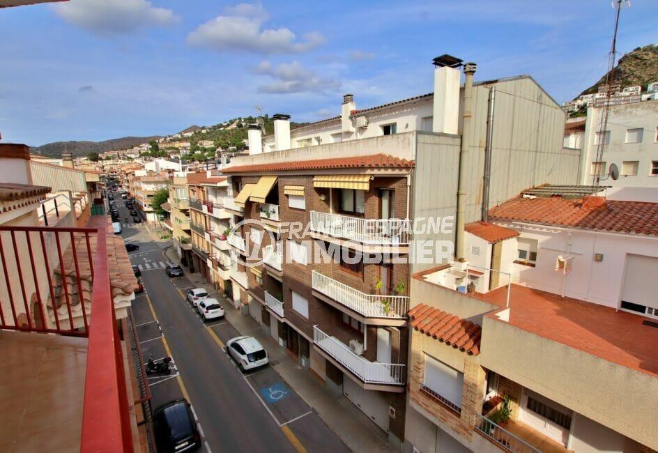 appartement a vendre costa brava, 2 pièces 49 m², terrasse avec vue sur les montagnes
