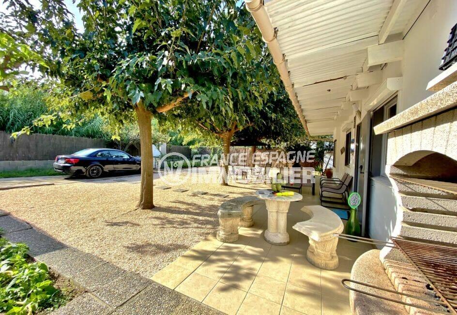 maison a vendre espagne, 80 m² sur terrain 390 m², parking cour intérieure