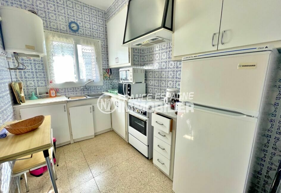 acheter appartement rosas, 2 chambres 66 m², cuisine indépendante aménagée et équipée