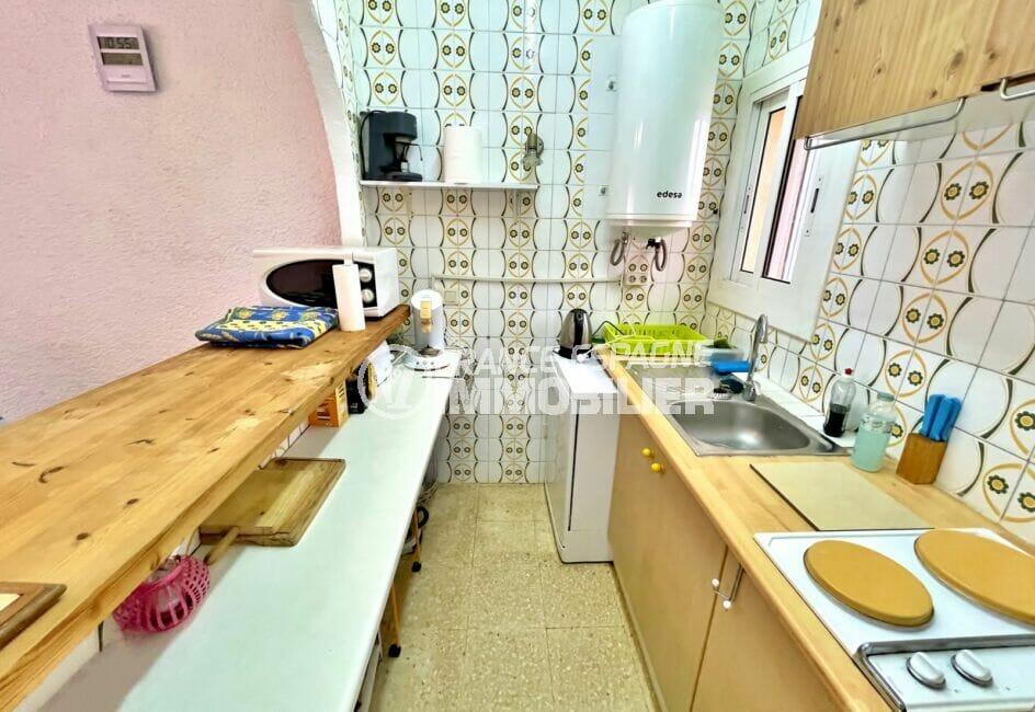 maison à vendre empuriabrava, 2 chambres 76 m², cuisine américaine aménagée et équipée