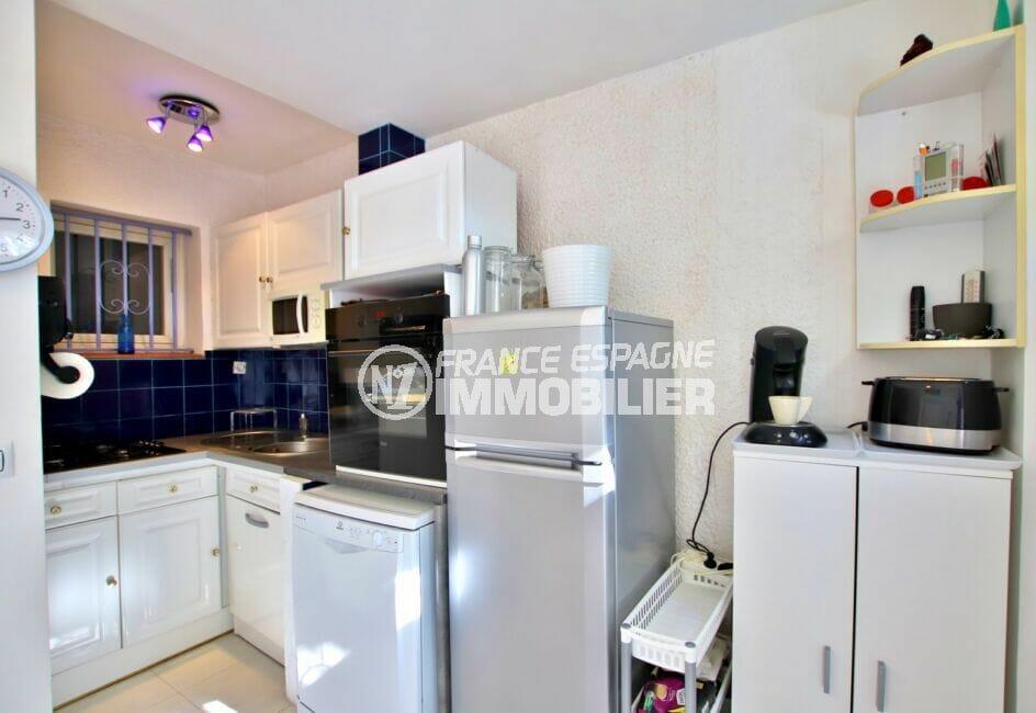 maison a vendre a empuriabrava, 2 chambres 52 m², cuisine ouverte aménagée et équipée