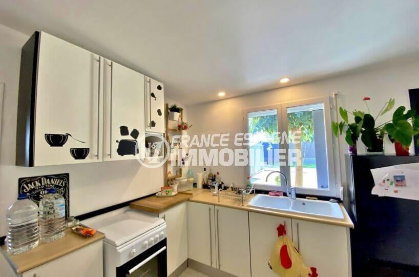acheter a rosas: villa 80 m² sur terrain 390 m², cuisine équipée d'une gazinière, nombreux ramgement