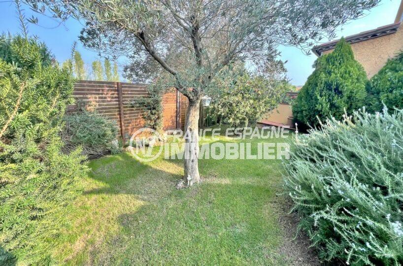 vente maison espagne costa brava, 3 chambres 113 m², terrrain 263 m², jardin arboré