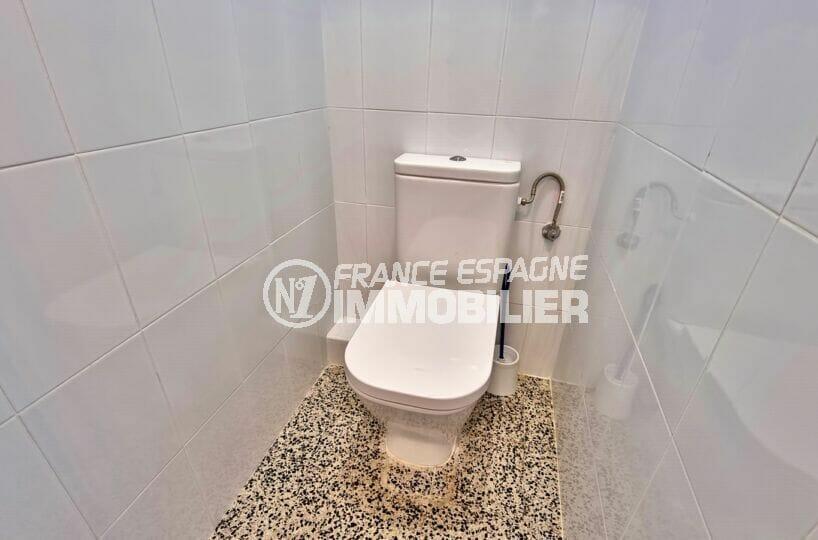 santa margarida: appartement 2 chambres 63 m², wc indépendant à la salle d'eau